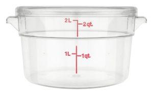 навчальна посудина з прозорого пластику