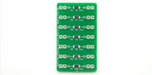 Плата набору резисторів різної сили