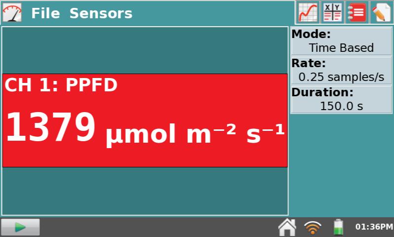 зображення з екрану лабораторного інтерфейсу