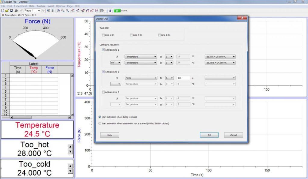 просте налаштування датчиків з Logger Pro